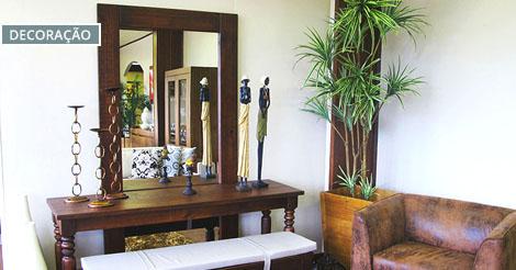 Aparador com espelho perfeito para o hall de entrada iaza blog seu blog de decora o - Aparadores de entrada ...