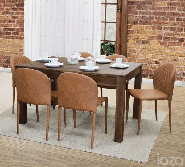 cadeiras coloridas na sala jantar