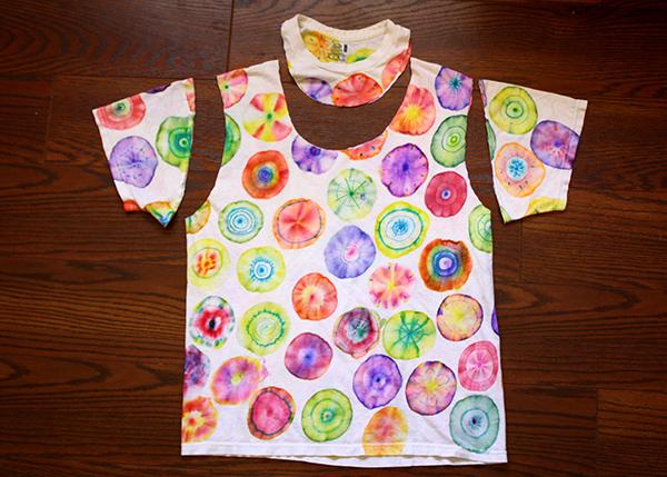 Sacola de camiseta