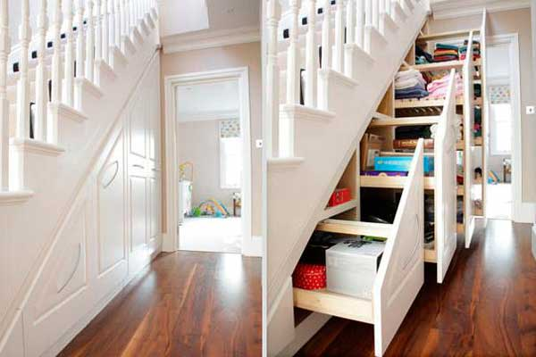 Gavetões-na-escada