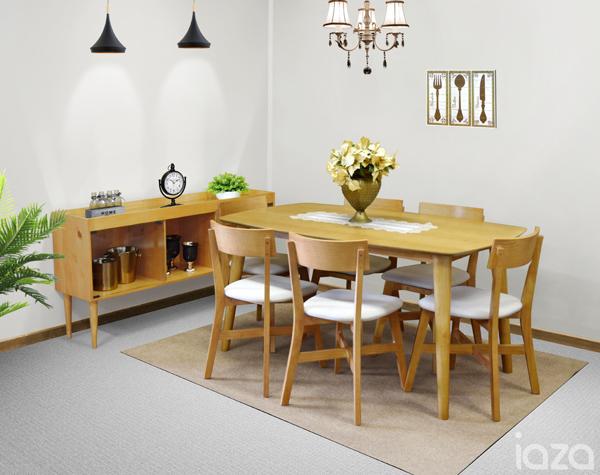 mesa de mdf e madeira Urban