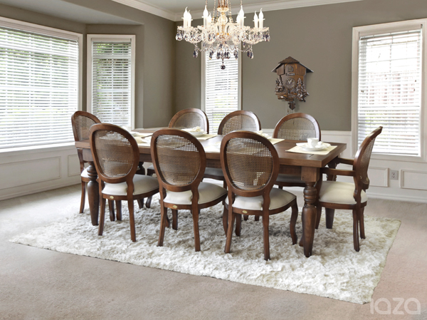 mesa de jantar retangular Flora