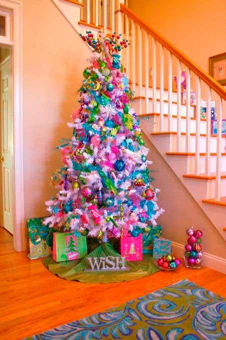 decoração-natalina-colorida