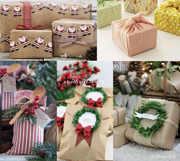 fazer presente de natal
