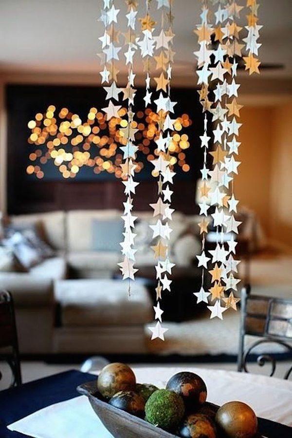 Estrela na decoração de fim de ano
