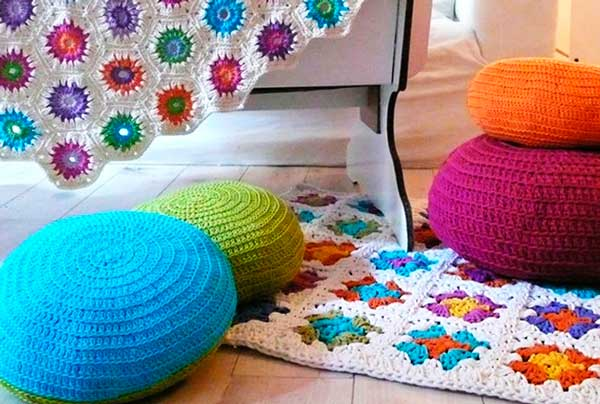 Crochê-na-decoração