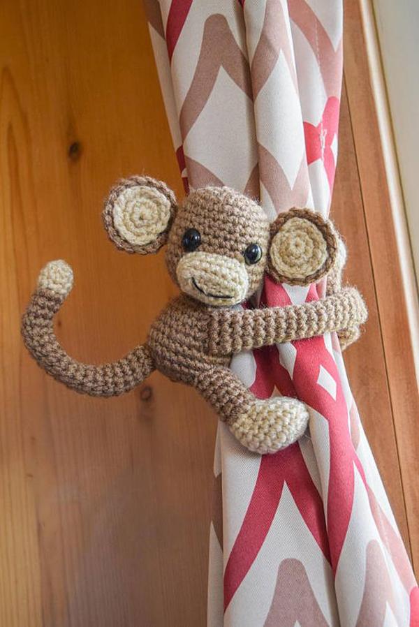 macaco de crochê