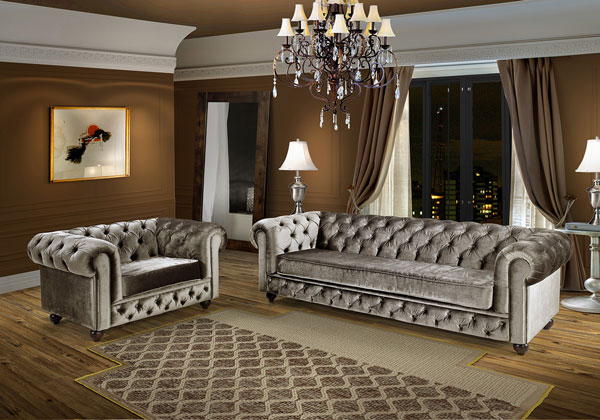 Sof a estrela da sala de estar e o companheiro da casa for Sala de estar com um sofa