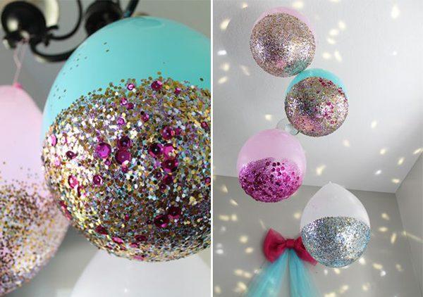 Balões decorativos para fim de ano