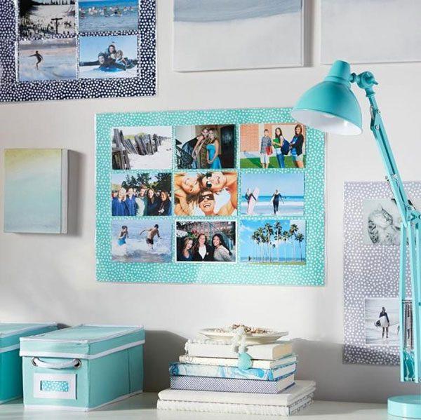 escritório decorado com fotografia