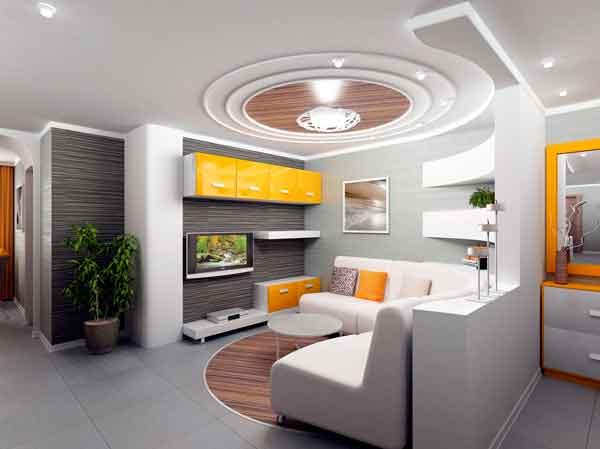 decoração-com-cinza-e-amarelo