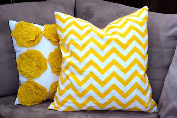 Almofadas-cinza-e-amarela
