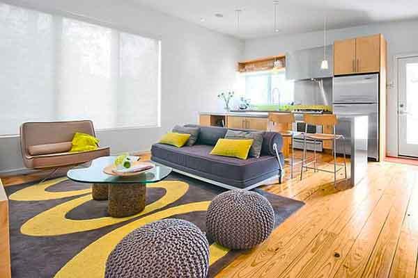 Sala De Estar Cinza Azul E Amarelo ~ de sala em azul e amarelo amarelo fica belíssimo na sala de estar e