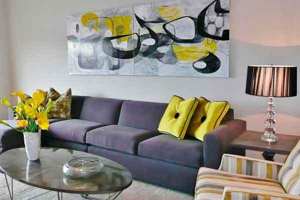 Sala-de-estar-cinza-a-amarelo