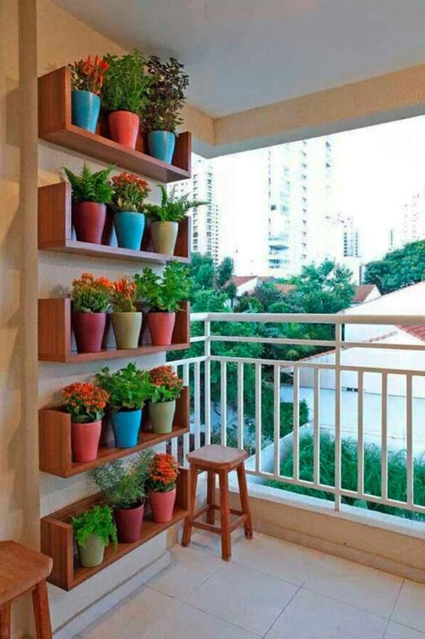 plantas na decoração de varanda