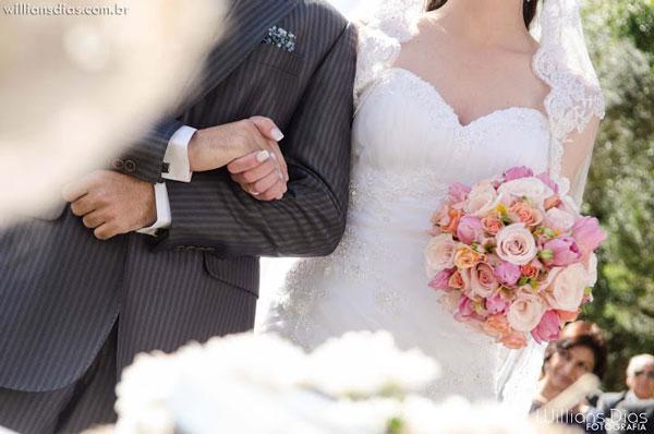 Buquê para casamento de campo