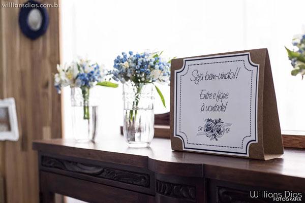 Casamento de campo hall