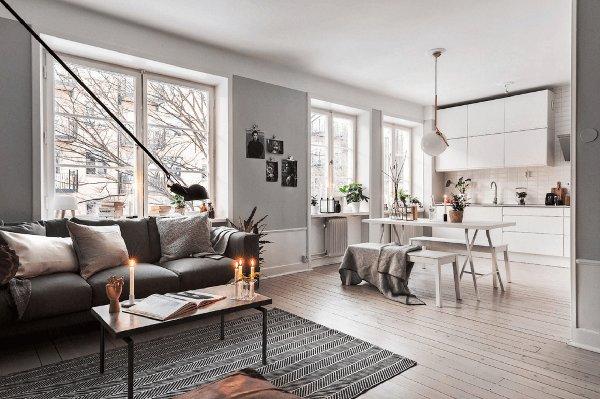 estilo escandinavo decoração