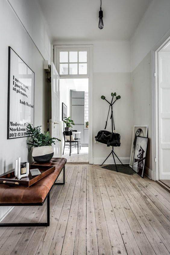 madeira no estilo escandinavo