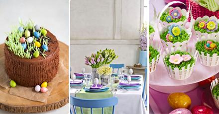 decorar mesa de Páscoa