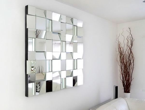 Painel de espelho na decoração