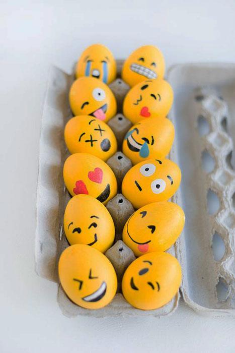 Cascas de ovos criativas