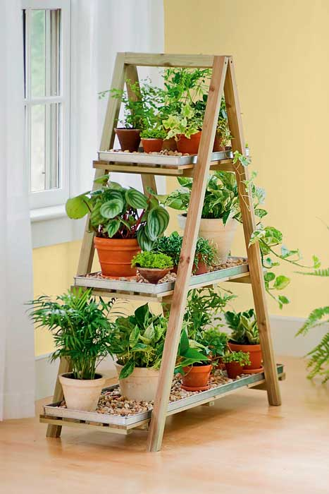 Decoração com escada