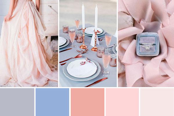 Casamento com as cores do ano