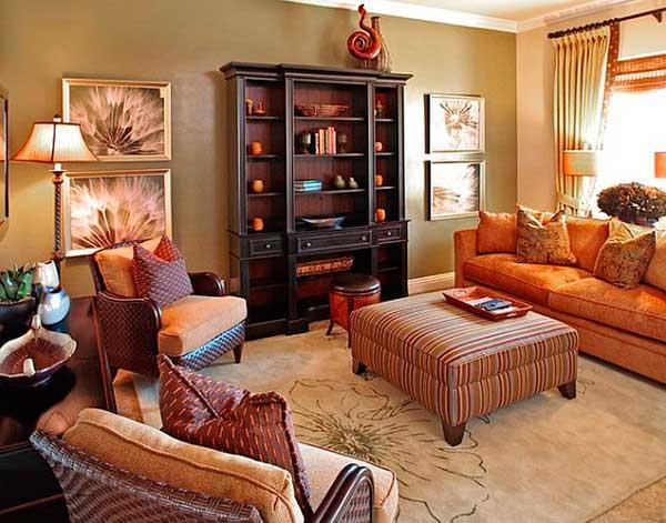 Tis Autumn Living Room Fall Decor Ideas: Deixe Sua Casa Com O Clima Da Decoração De Outono