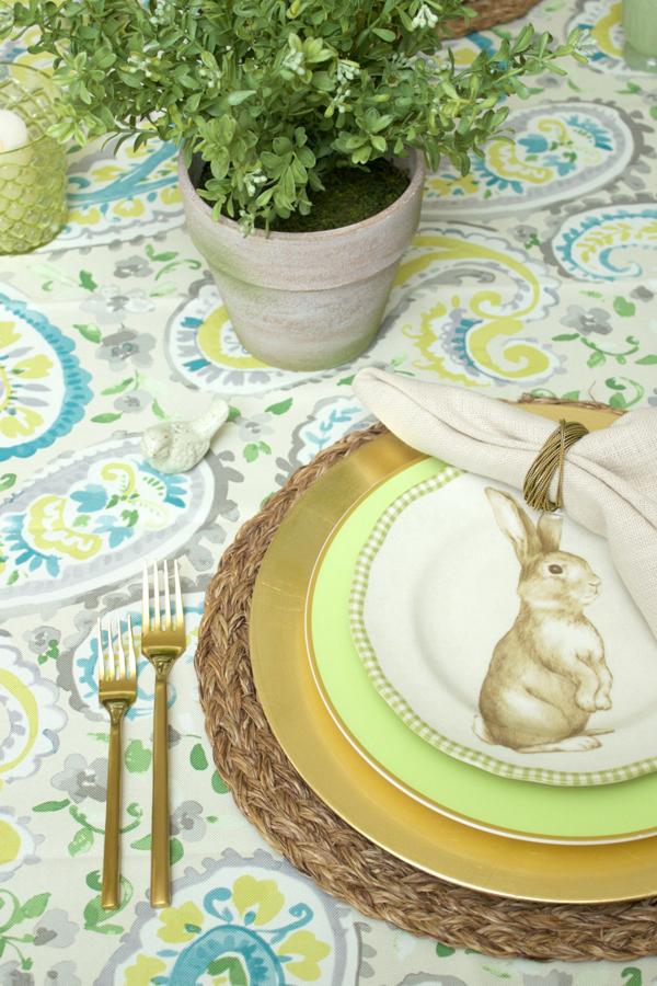 Como decorar a mesa de Páscoa