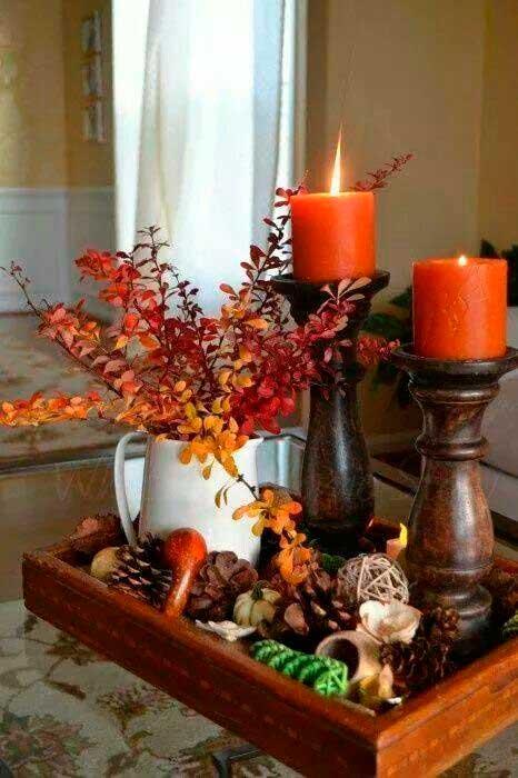 Arranjo de outono