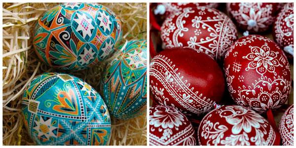 cascas de ovos para páscoa