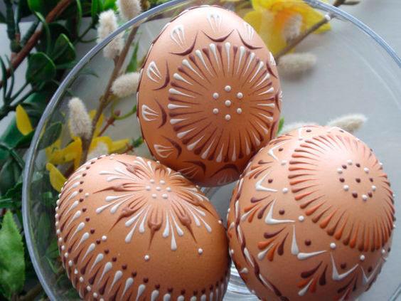 cascas de ovos decoradas