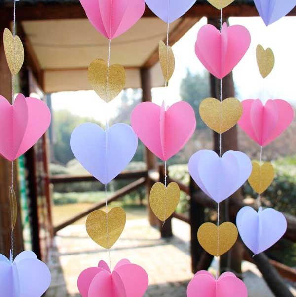 10_Coração-de-papel-pendurados