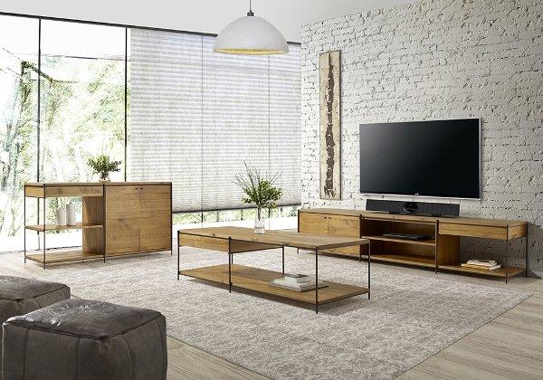 móveis indsutriais na decoração