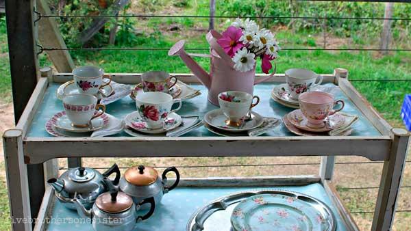 Carrinho de chá