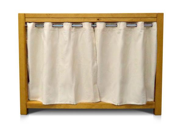 Balcão com cortina