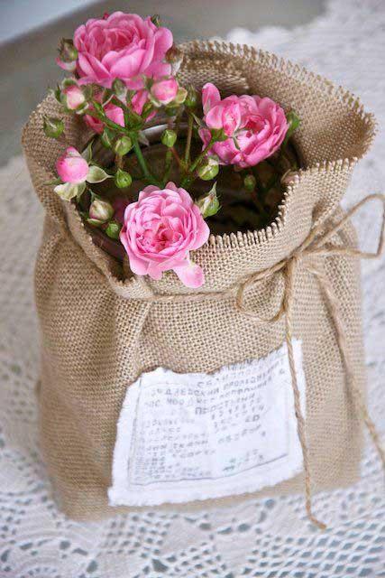 Faça você mesmo vaso de flor