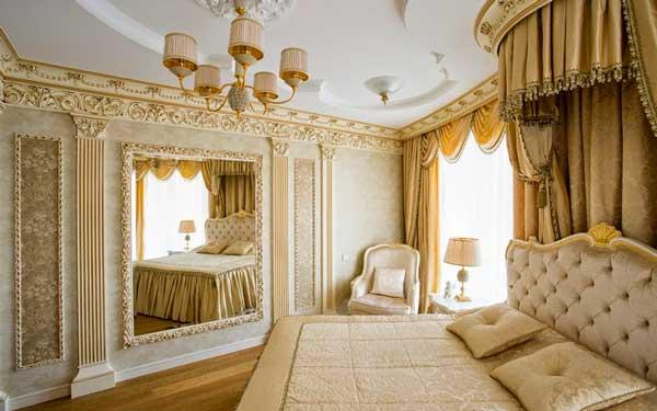 Dourado na decoração