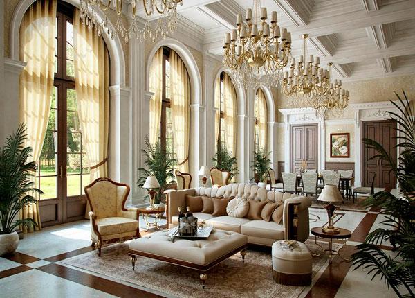 Estilo clássico na decoração