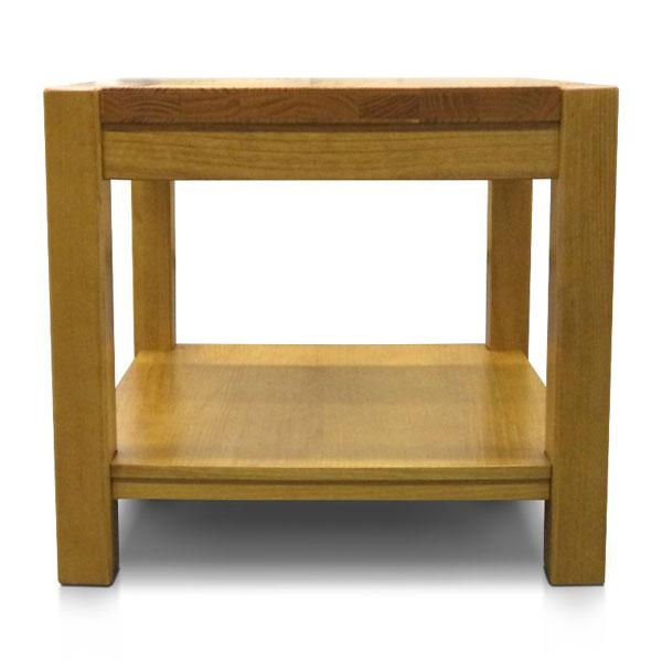 Mesa lateral de madeira linha kubo
