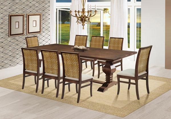 Móveis de madeira maciça para sala de jantar