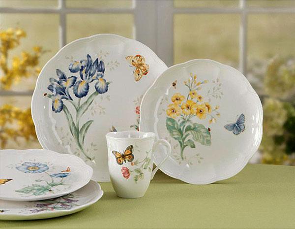 Porcelanas na decoração