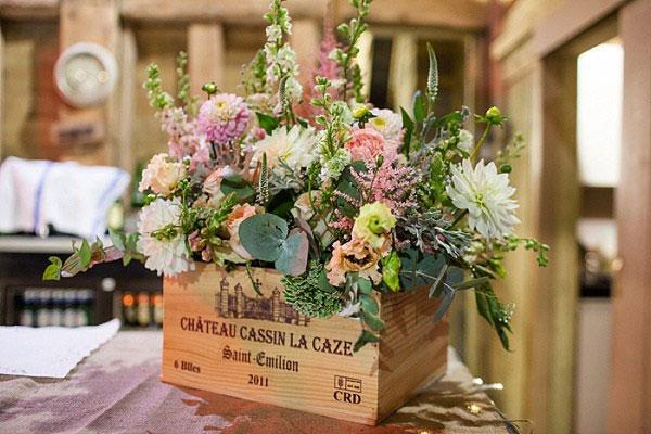 Flores casamento de campo