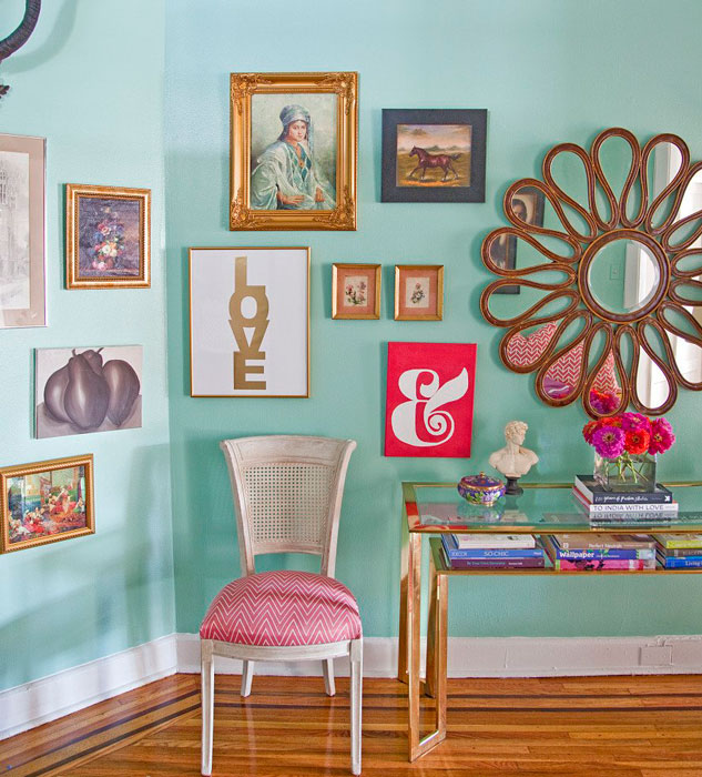 vintage na decoração