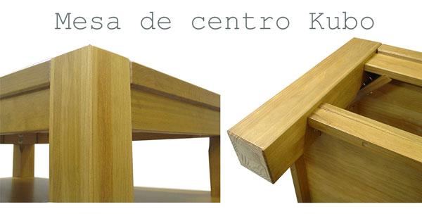 Mesa de centro kubo