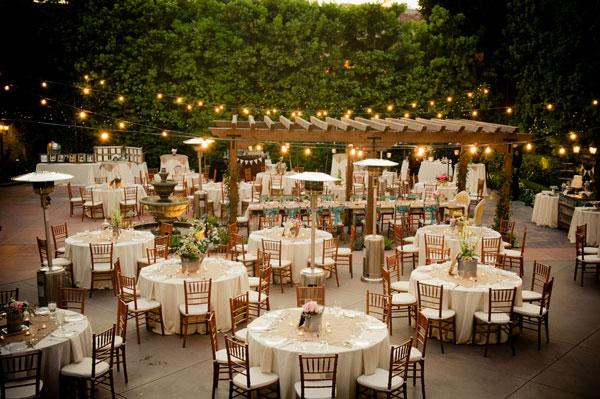 decoração mini wedding