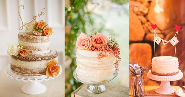 bolos mini wedding