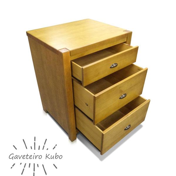 gaveteiro de madeira