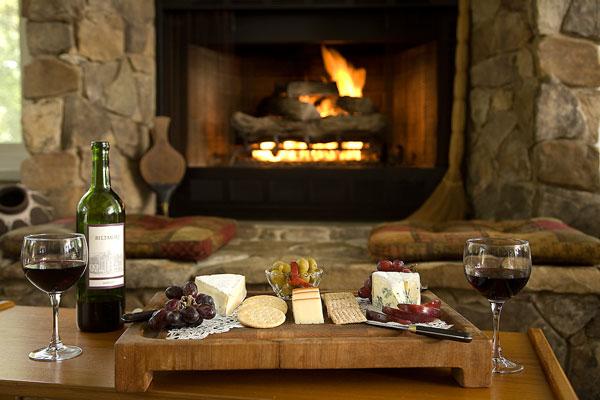 lareira e vinho